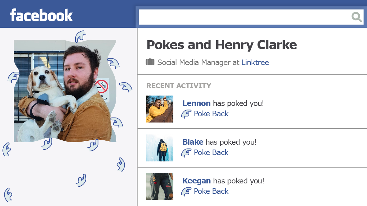 Henry and Facebook Pokes