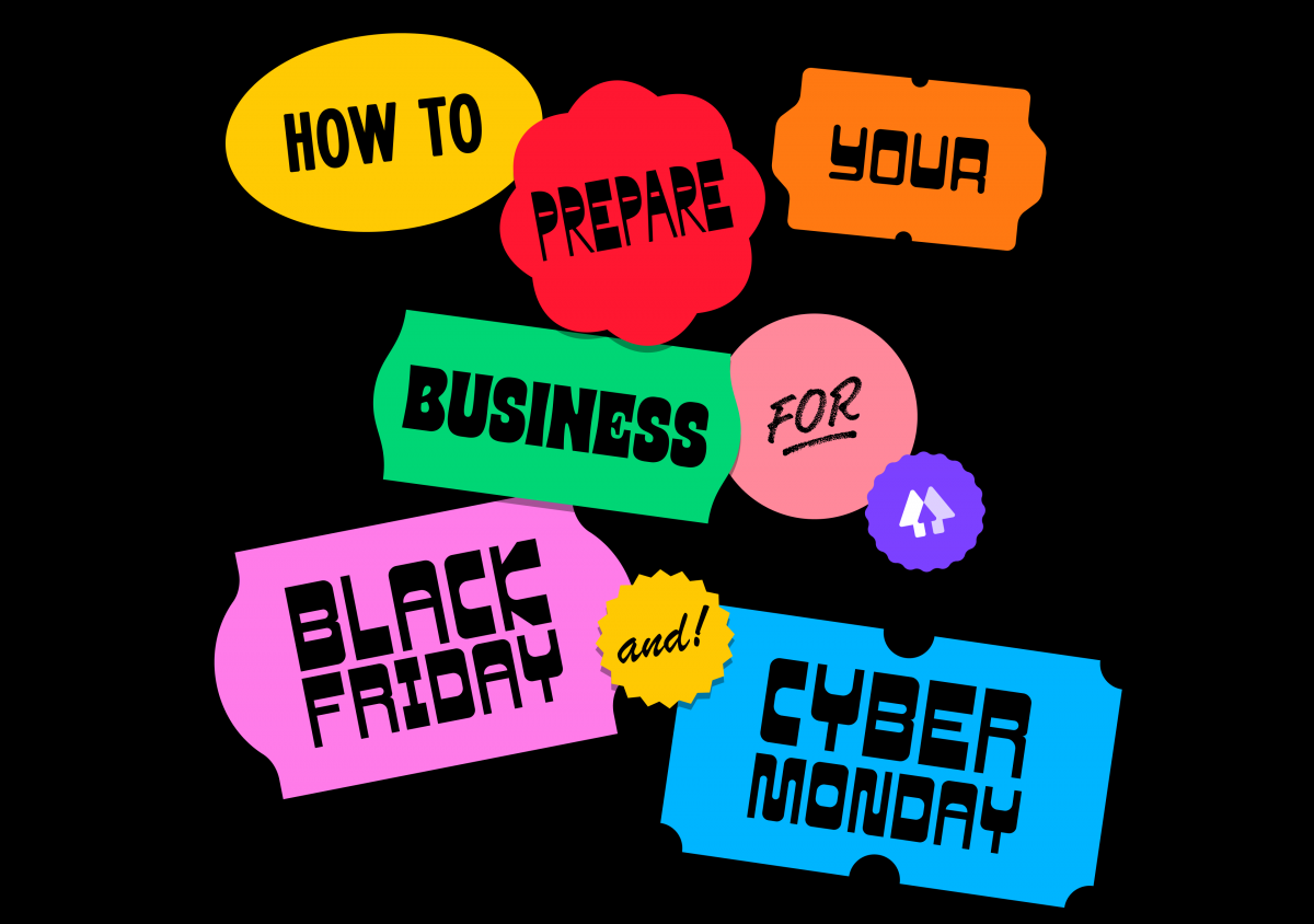 how to prepare your business for black friday and cyber monday