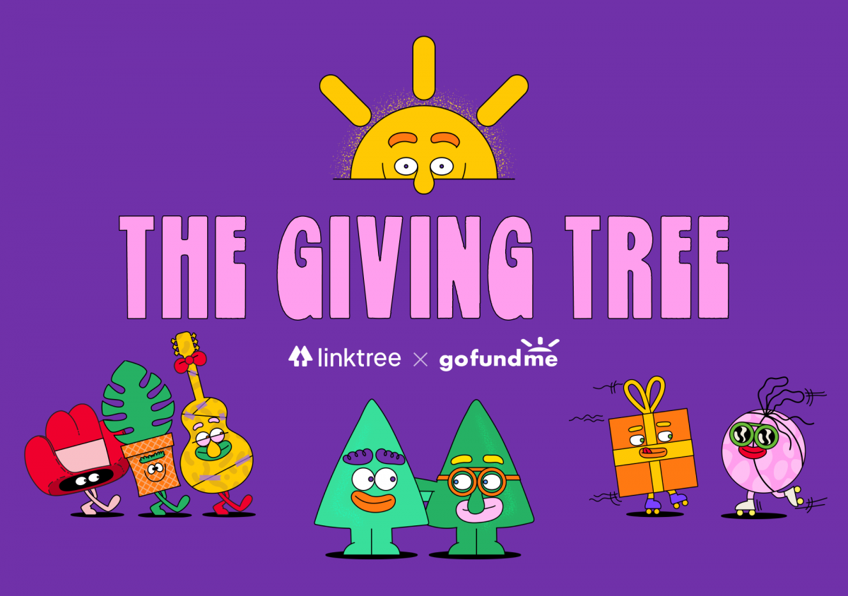 Linktree & GoFundMe presents The Giving Tree