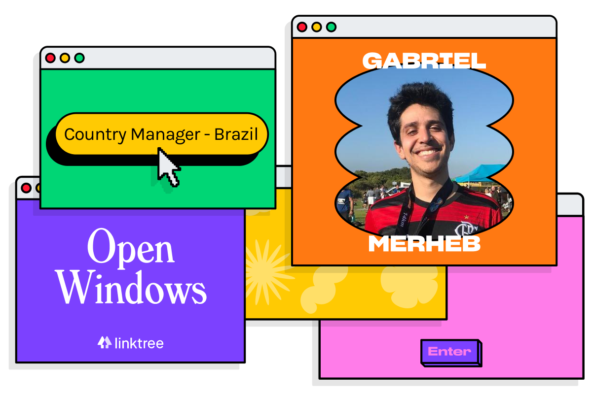 Gabriel on growing Linktree in Brazil