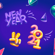 new years theme icons