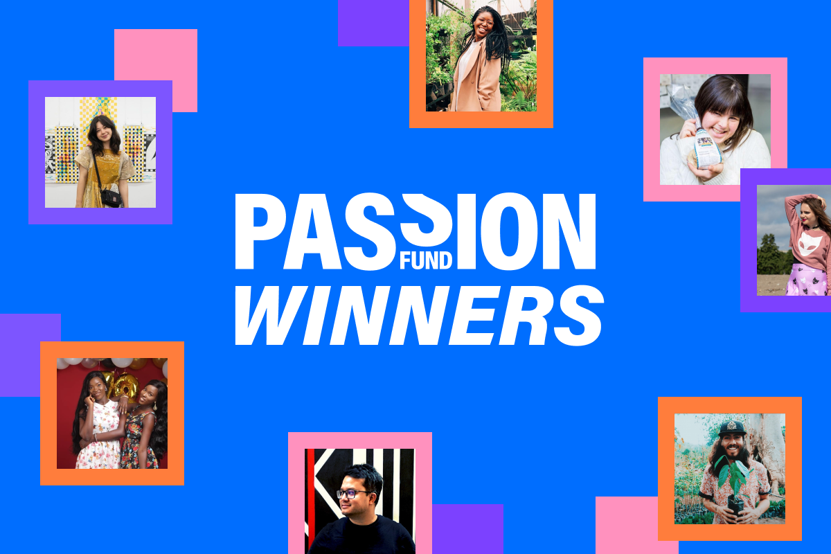 Linktree is announcing the winners of the Passion Fund for creators.