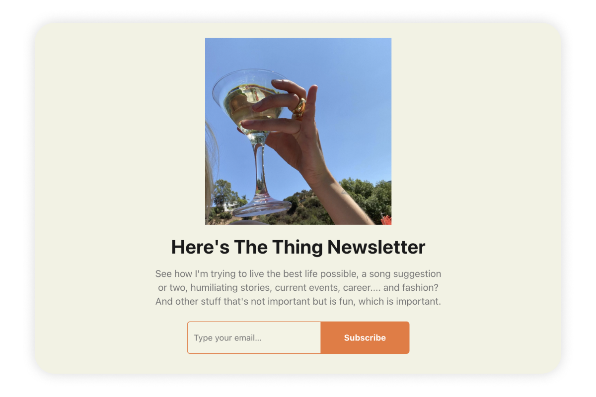 Influencers are jumping on the newsletter creator trend.