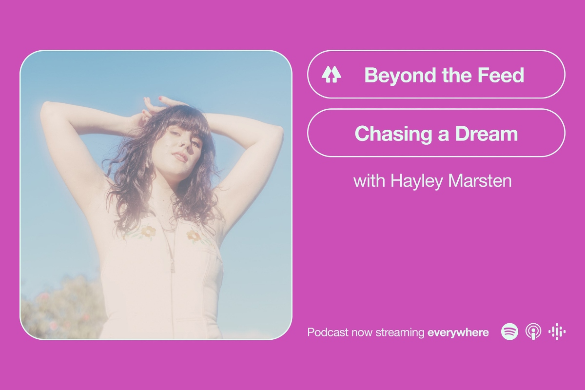 Beyond The Feed podcast with singer Hayley Marsten
